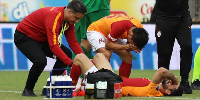 Galatasaray'da Emre Akbaba sevinci