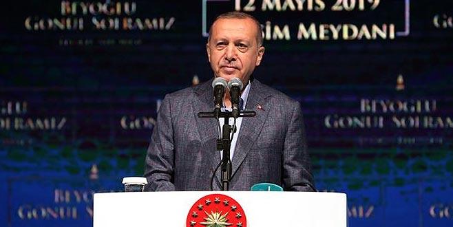 Erdoğan: İstanbul halkı 23 Haziran'da gereken cevabı verecektir