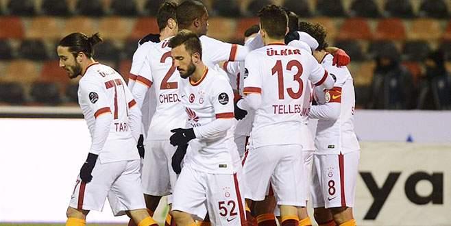 Galatasaray, Eskişehirspor'u 2-1 mağlup etti