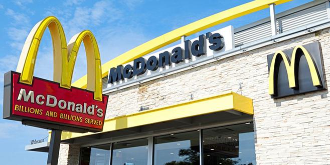 McDonald's'ta 'büyükelçilik hizmeti'