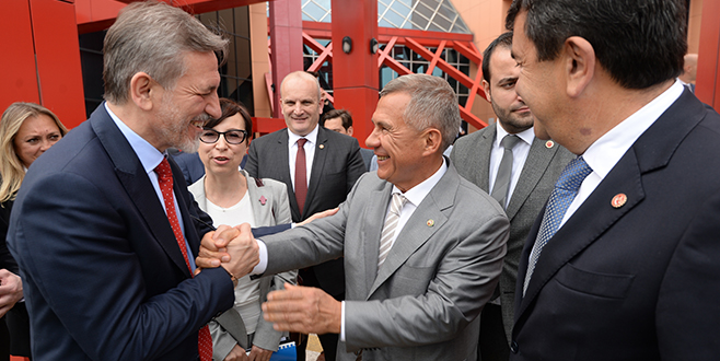 Bursa ile Tataristanarasında ticaret köprüsü