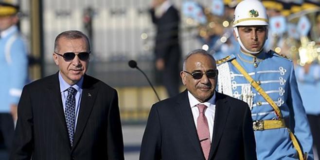 Irak Başbakanı Adil Abdulmehdi Ankara'da
