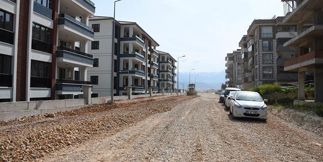 Yeni mahalleye yeni yol açılıyor
