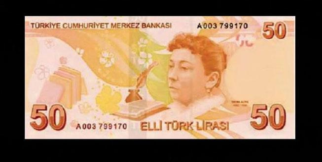 50 TL'nin üzerinde fotoğrafı bulunan Fatma Aliye kimdir? Torunu bakın hangi ünlü isim!