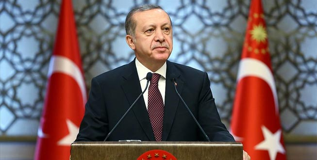 Erdoğan: Bizim kızıl elmamız da büyük ve güçlü Türkiye'nin inşasıdır