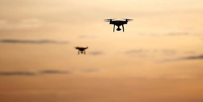 Drone'lara renge göre izin