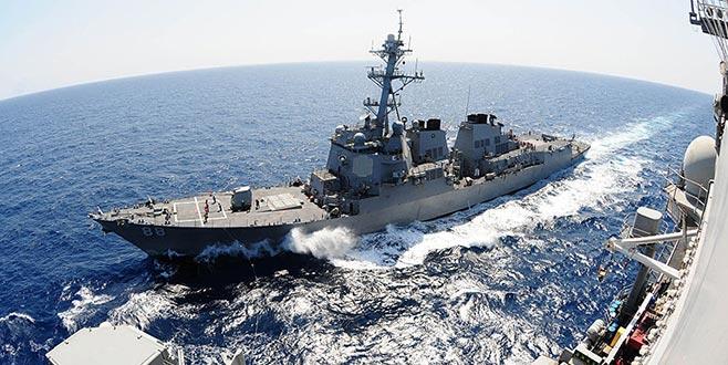 ABD savaş gemisi gönderdi