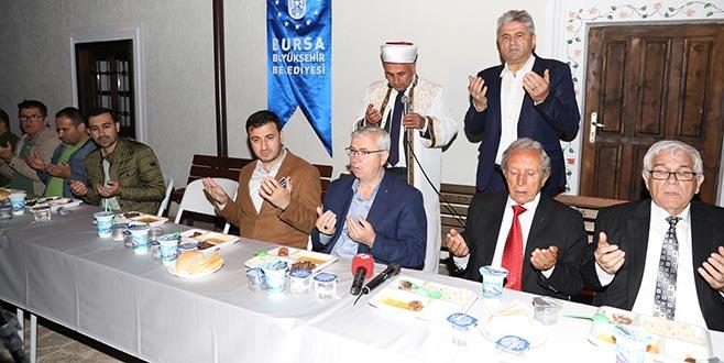 Bulgaristan'da iftar bereketi