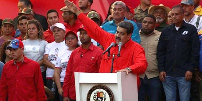 Maduro muhalefetemeydan okudu