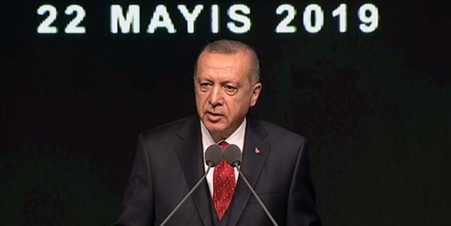 Erdoğan: Yargıyı hedef göstermek ahlaksızlıktır