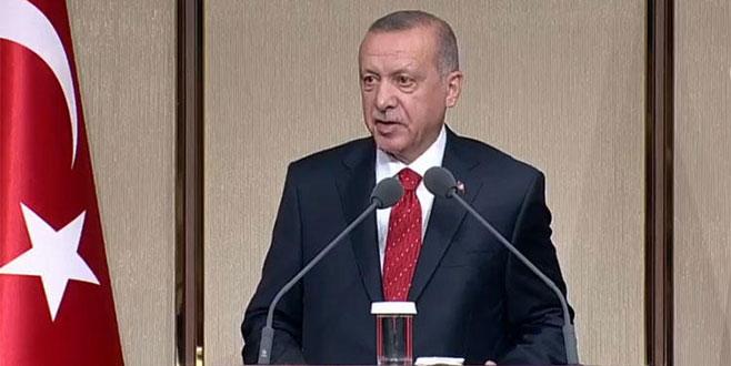 Cumhurbaşkanı Erdoğan: Yıkıcı olmak kimseye yarar sağlamaz