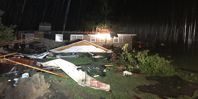ABD'de fırtına ve şiddetli yağış: 4 ölü