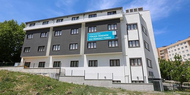 Nilüfer'de üniversiteli kızöğrencilere modern yurt