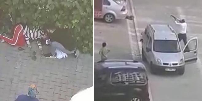 Üst kat komşusu genç kıza dehşeti yaşattı