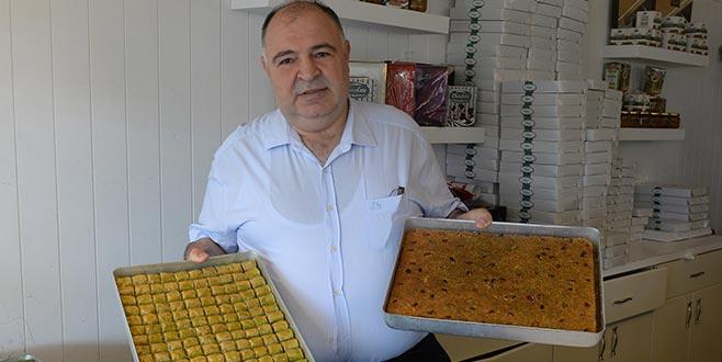 Bursa'dan Fransa'ya hava kargo ile 1 ton baklava