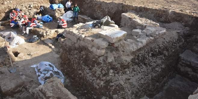 Yeşil Müze kazısında Bizans temelleri çıktı