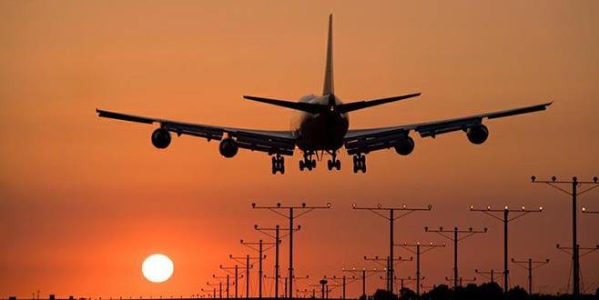 Muş-Bursa seferini yapan yolcu uçağına kuş çarptı