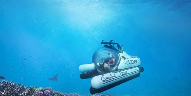İşte dünyanın ilk denizaltı taksisi