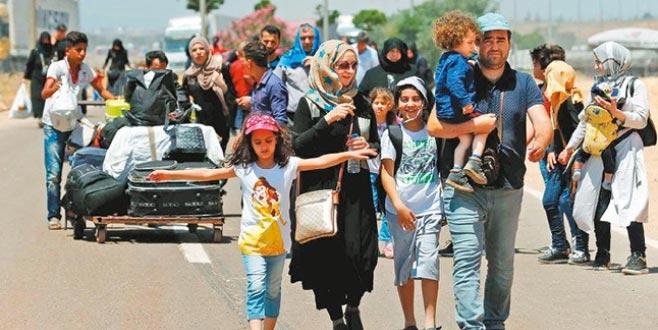 329 bin Suriyeli ülkesine döndü