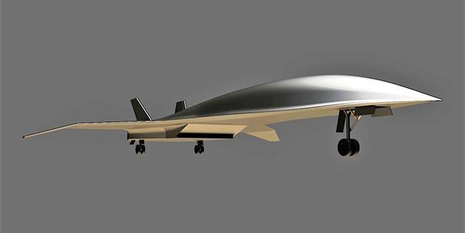 Sesten 5 kat hızlı yolcu uçağı geliyor