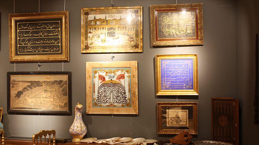 158 yıllık hat tablosu 55 bin liraya satıldı