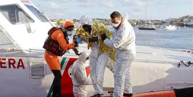 Akdeniz'de tekne faciası, 300 mülteci kayıp