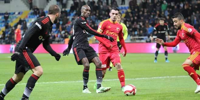 Kayserispor, Beşiktaş'ı 1-0 mağlup etti