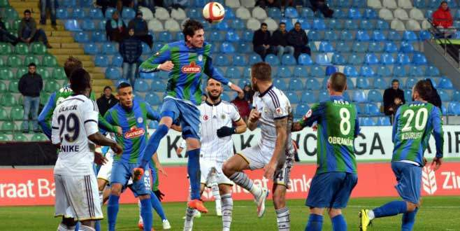 Fenerbahçe Çaykur Rizespor'u mağlup etti