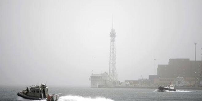 Türkiye'den İsrail'e giden gemide yangın