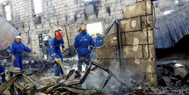 Hastanede yangın: 6 ölü
