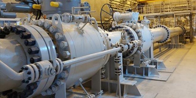 TANAP'tan bir yılda 1,8 milyar metreküp gaz