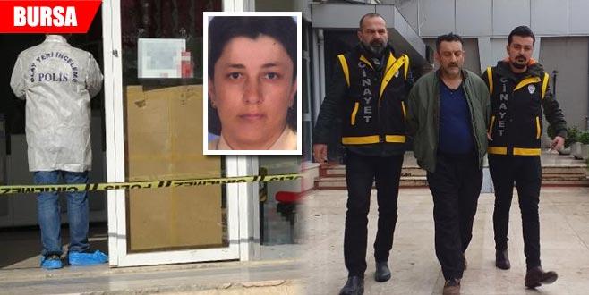 Eşini kargo şubesinde tuzak kurarak öldürmüştü... Hakim karşısına çıktı