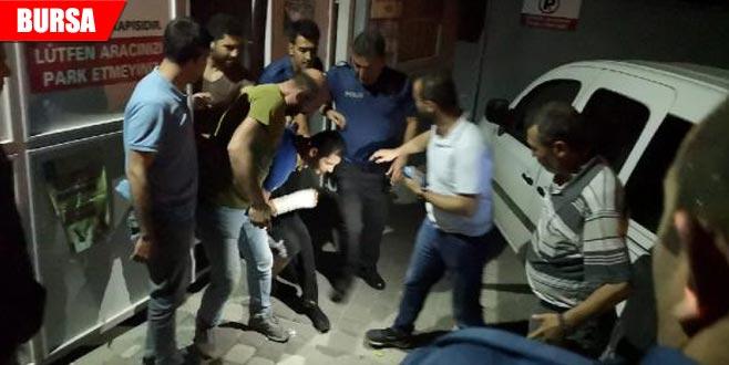 Baba-oğul kaçtı polis kovaladı