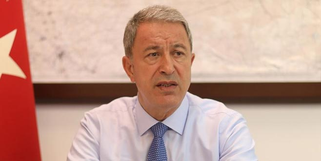 Milli Savunma Bakanı Akar'dan F-35 açıklaması