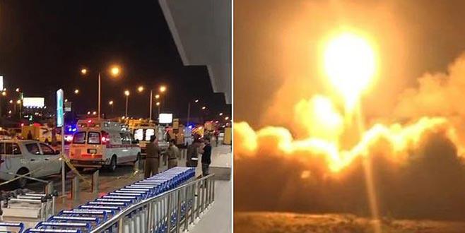 Suudi havalimanına füze saldırısı: 26 yaralı