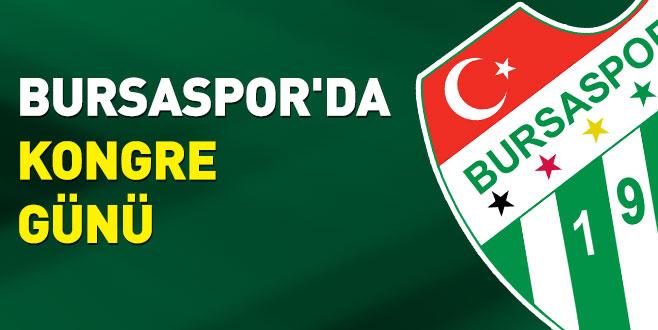 Bursaspor'dakongre günü