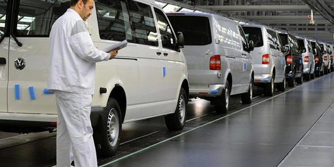 Volkswagen fabrikası içinCumhurbaşkanlığı devrede