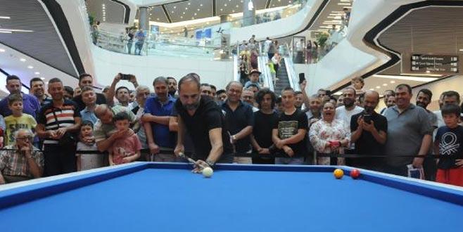Semih Saygıner'den Bursa'da nefes kesen gösteri