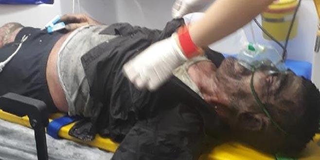 Balıkesir'de korkunç olay! Amcasını yakarak öldürmeye çalıştı