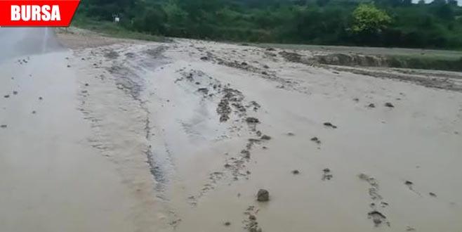 İnegöl'deki yağış ve dolunun zararı belli oldu