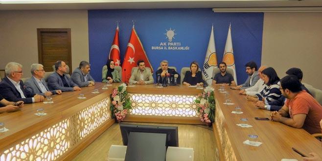 AK Parti Bursa'dan Mursi açıklaması