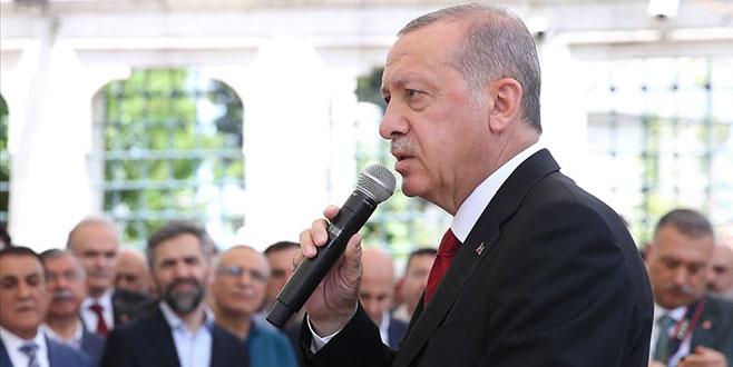 Cumhurbaşkanı Erdoğan'dan Mursi'nin ölümüne ilişkin açıklama