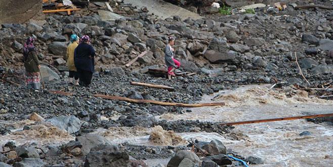 Trabzon'daki sel felaketinde can kaybı 7'ye yükseldi