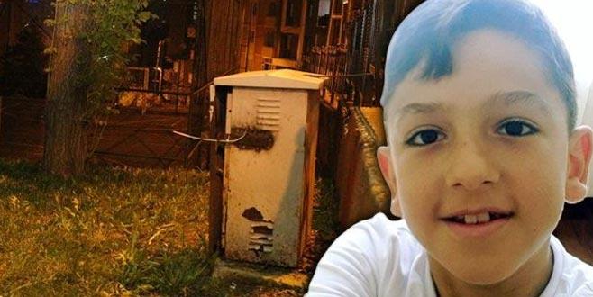 Parktaki elektrik kaçağı Onur'u öldürdü