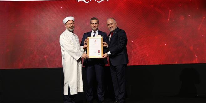 Türk Kızılayı'ndan MNG Kargo'ya ödül