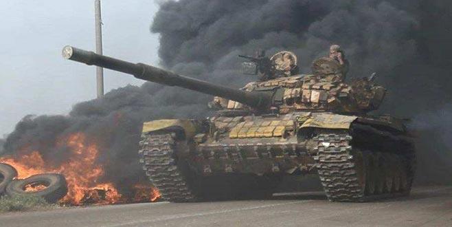 Rus Özel Kuvvetleri'nden Lazkiye'deki muhaliflere saldırı