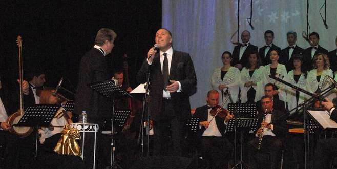 Büyükşehir Orkestrası Fatih Erkoç'u ağırladı