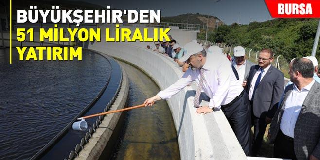 Büyükşehir'den 51 milyon liralık yatırım