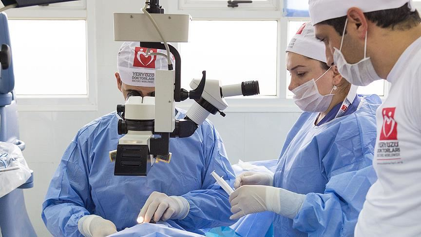 Yeryüzü Doktorları, katarakt ameliyatları için destek bekliyor