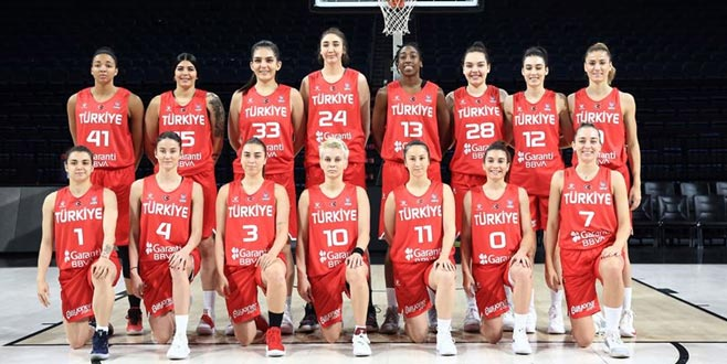 A Milli Kadın Basketbol Takımı'nın nihai kadrosu belli oldu